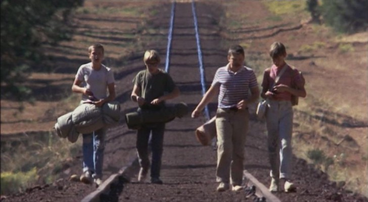 """Die vier Jungs in """"Stand by Me"""""""