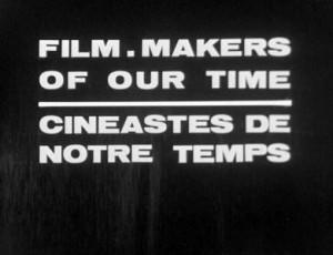 Cineastes de notre temps