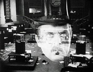 """Szene aus """"Dr. Mabuse, der Spieler"""" in """"Von Caligari zu Hitler"""""""