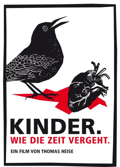 Poster Kinder.Wie die Zeit vergeht