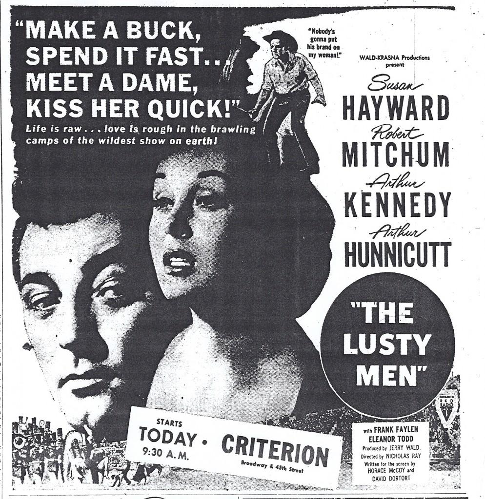 The Lusty Men Robert Mitchum