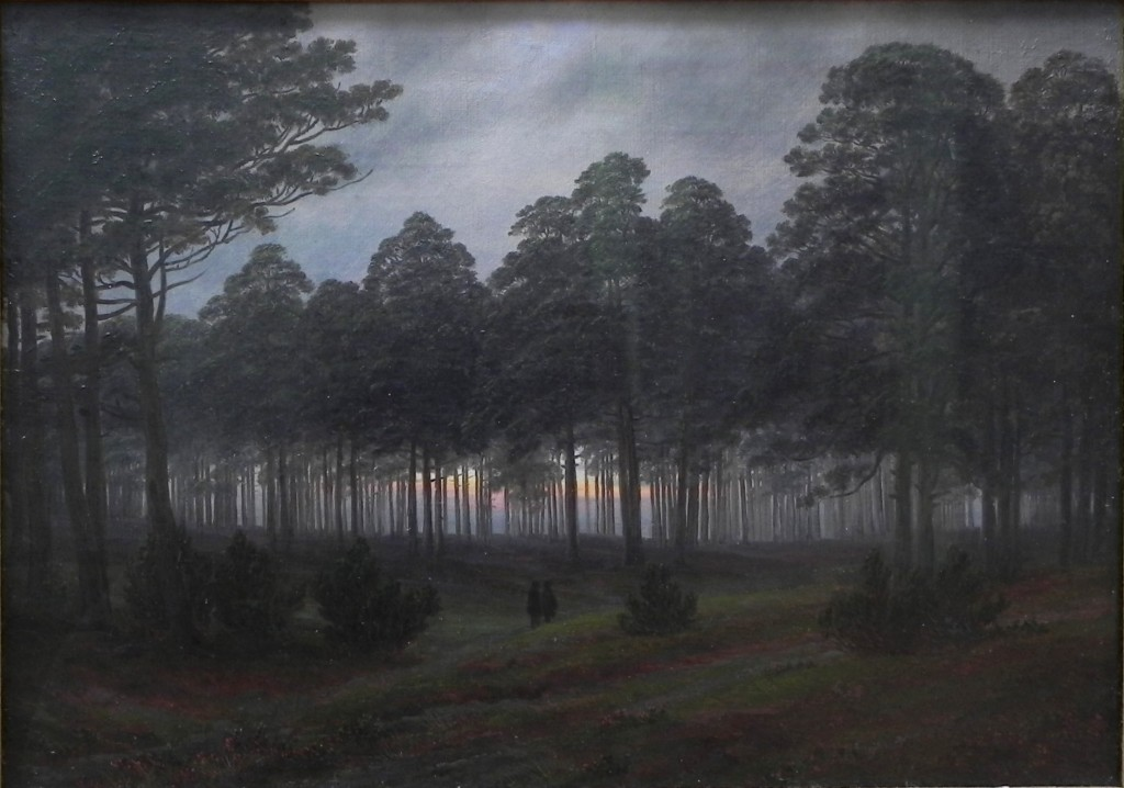 Der Abend von Caspar David Friedrich