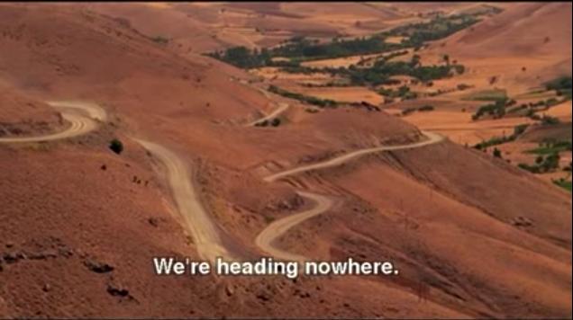We're heading nowhere